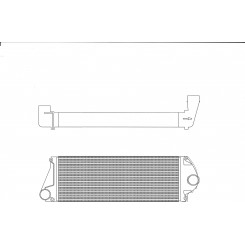 John Deer 8440 Intercooler