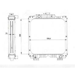 Cace Farmall 105A-115A
