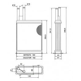 CN6128 Fiat Ducato / Citroen Jumper varmeapparat