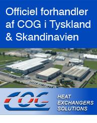Officiel forhandler af COG i Skandinavien og Tyskland.